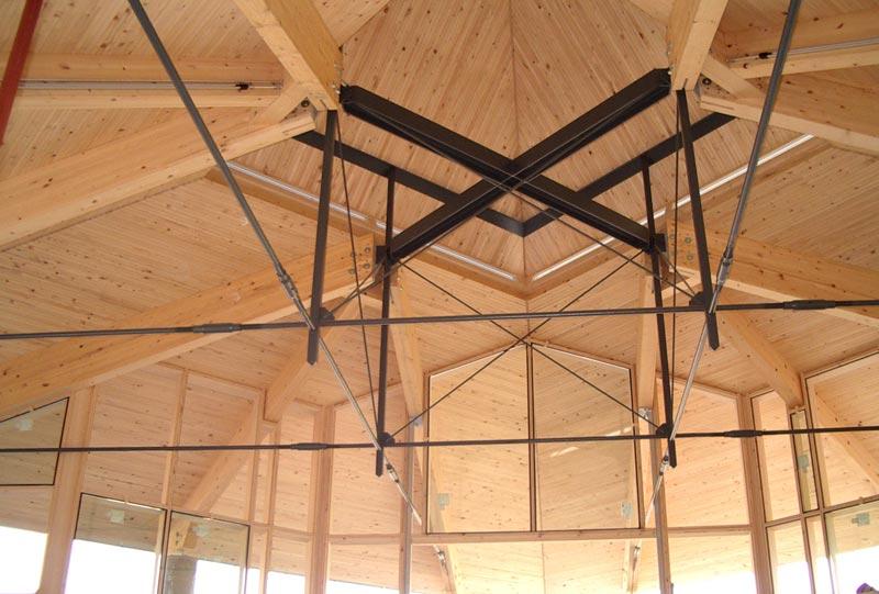 Dachkonsturktion Begegnungsstätte